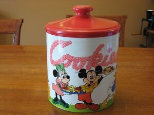 Jarre à biscuits vintage de Walt Disney