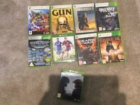 Video games bundle 360 games and 2 Xbox one games (HALO 5 and Fifa)