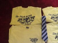 Two sets of Mark Germin stage school tops age5/6 7/8