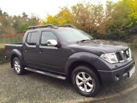 NISSAN NAVARA 2.5 DCI OUTLAW EDITION DOUBLE CAB 2008 MODEL