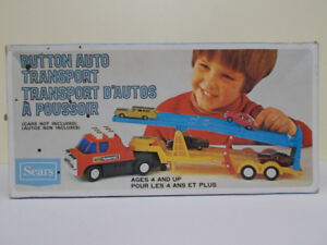 Toy Vintage Car Transport