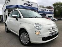 2012 Fiat 500 POP Manual Hatchback