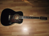 FOR SALE VERY NICE VINTAGE TWELVE STRING YAMAHA.
