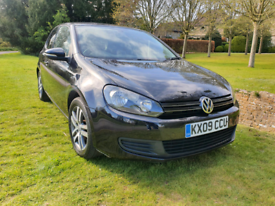VW Golf MK6 2.0 TDI 3DRS Sport, Metallic black New MOT FSH £2250