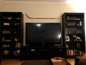 Bookcases and TV Table (IKEA Hemnes - Excellent Condition)