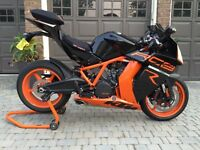 2012 KTM RC8R only 3800kms REDUCED