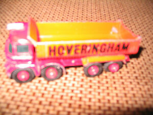 MATCHBOX LESNEY HOVERINGHAM - TIPPER DUMP TRUCK NO 14 KING SIZE