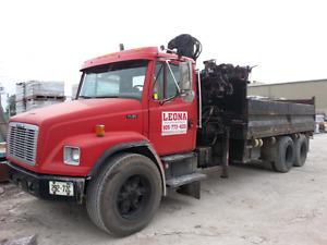 Crane truck....dump