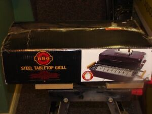 New Life @ Home Steel Tabletop Grill