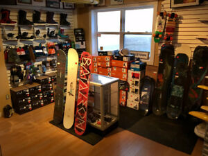 SNOW SALE -  Up to 50% off boards, boots, bindings & more.