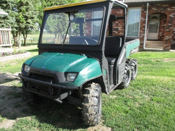 Used 2006 Polaris Ranger 700 Twin EFI 6x6