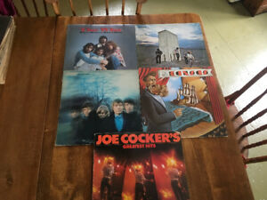 Disque de vinyle /JOE COKER/THE WHO /ROLLING STONE /KANSAS