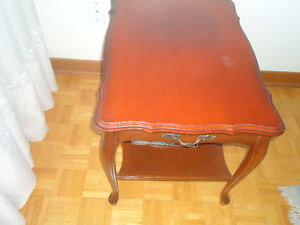 **FRENCH PROVINCIAL END TABLE**