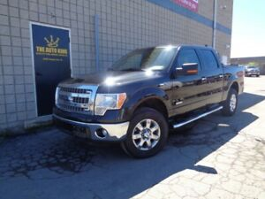 2014 Ford F-150 4WD SUPER CREW **** XTR **** TAN LEATHER ****