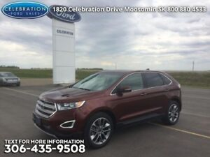 2015 Ford Edge Titanium  One Owner Local Trade in!