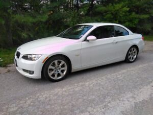 2008 BMW 335i Convertible, Extremely KM, Very Clean, RWD, Manual