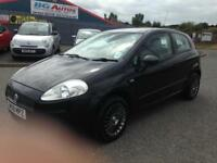 08 FIAT PUNTO 1.2 ACTIVE 3DR BLACK