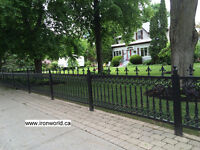 IRON AND STEEL RAILINGS