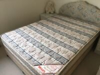 Myers Double bed with orthopaedic matress