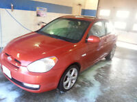 2008 Hyundai Accent sport,  NEW BRAKES And Timing Belt.