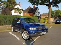 2006 BMW X5 3.0D AUTO LE MANS BLUE EXCLUSIVE EDITION DIESEL SPORT PLUS PACKAGE