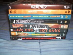 Various Dvd's in good condition
