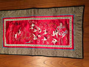 Chinese Silk Broidery Panels