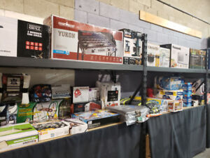 MISGUIDED FREIGHT LIQUIDATION AUCTION MONDAYS 6:30PM