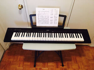 FOR SALE: Yamaha 76-key Portable Grand Piano/Keyboard