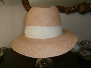 STRAW HAT with ORIGINAL PRICE TAGS New York Label Lower Price