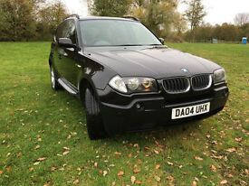 BMW X3 3.0i auto 2004 NOW SOLD BUT WE HAVE OTHERS!!
