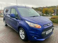Ford Transit Connect 1.6TDCI 115PS Limited LWB WOW JUST 28,000 MILES FSH NO VAT!