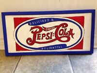 Hand painted custom wooden signs for man cave, garage or bar