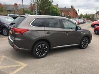 2016 Mitsubishi Outlander 2.0 PHEV 4h 5dr Auto Petrol/PlugIn Elec Hybrid brown A