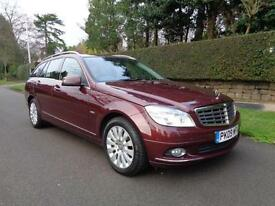 MERCEDES-BENZ C220 2.1 CDi | ELEGANCE | AUTO | CRUISE | HEATED LEATHER | 2009