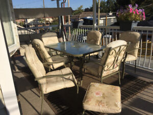 9 Piece patio set