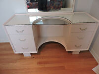 set de chambre antique blanc