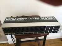 Behringer Ultragraph DEQ1024 Graphic equaliser and fedback destroyer