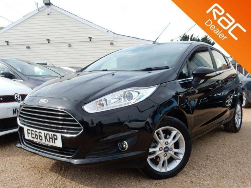 2016 66 FORD FIESTA 1.0 ZETEC 5D 99 BHP - USED CAR DEALER OF THE YEAR