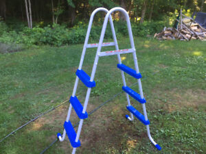 Pool ladder as new
