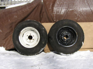 Rims  14 in.  15 in  & 16 in .  some with tires