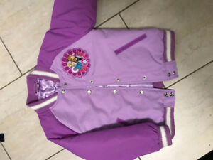 Disney Anna and Elsa bomber jacket