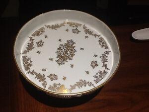 Vintage Porcelaine de France Hand Painted Pedestal Cake Plate Kitchener / Waterloo Kitchener Area image 1