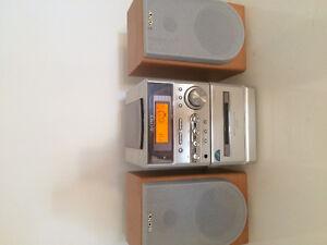 Radio AM-FM avec hauts-parleurs