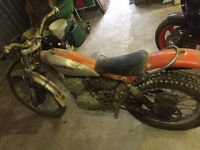 RL 250 1976 trials bike