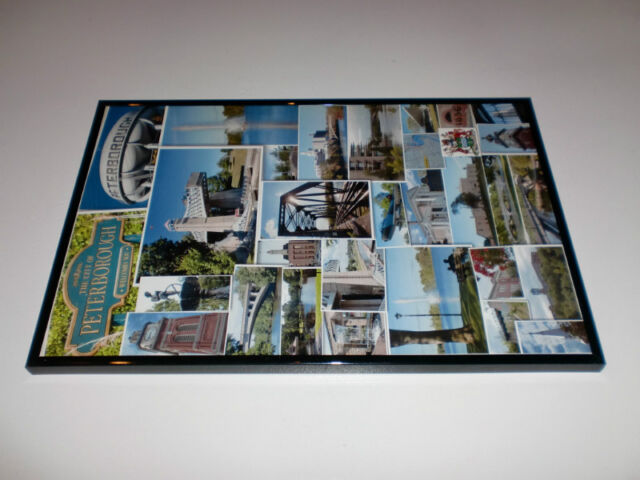 12 x 18 framed picture of Peterborough photos $30
