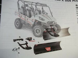 KNAPPS YAMAHA HAS LOWEST Prices on new WARN PLOWS !