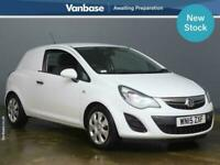 2015 Vauxhall Corsa 1.3 CDTi 16V 95ps ecoFLEX Van [Start/Stop] CAR DERIVED VAN D