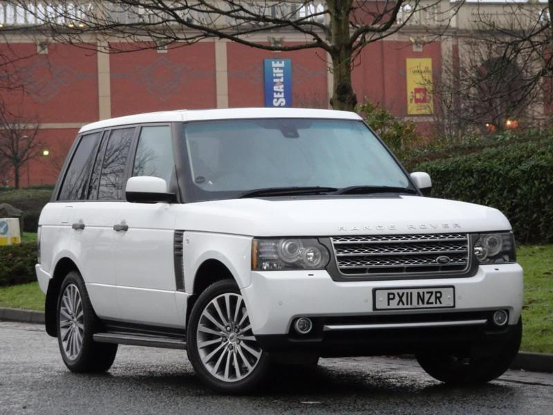 range rover vogue 4 4td v8 2011 autobiography fuji white. Black Bedroom Furniture Sets. Home Design Ideas