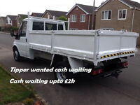 wanted WANTED ford transit pickup tipper mk 6 cash waiting upto £2k pick up